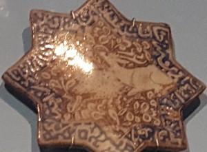 Persian tile 13thC.