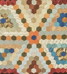 Quilt detail - electronic display image