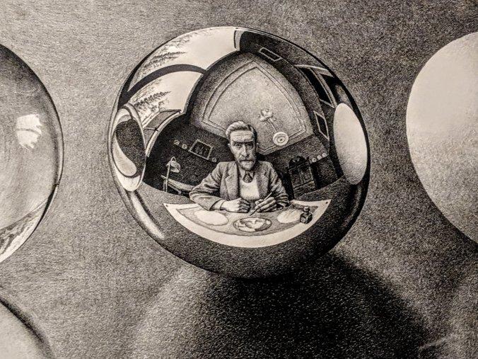 Escher art NGV