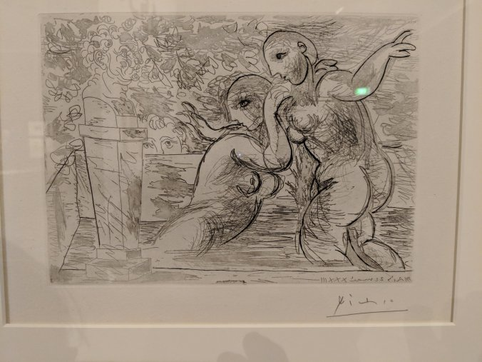 Picasso Vollard Suite Art Gallery Ballarat
